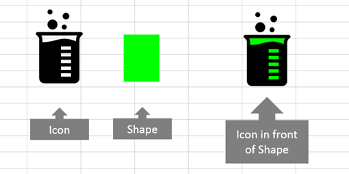 excel icon colour